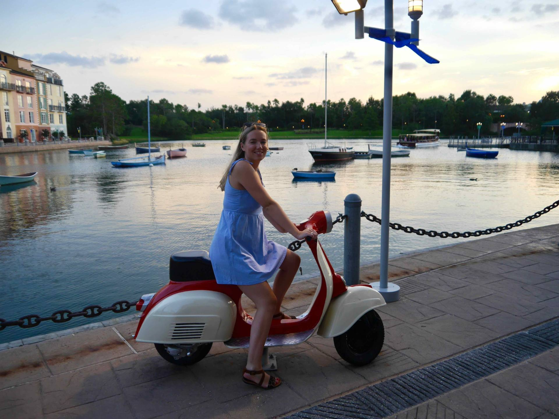Loews Portofino Bay Hotel | Universal Orlando Resort Hotel | The Travelista | Vespa