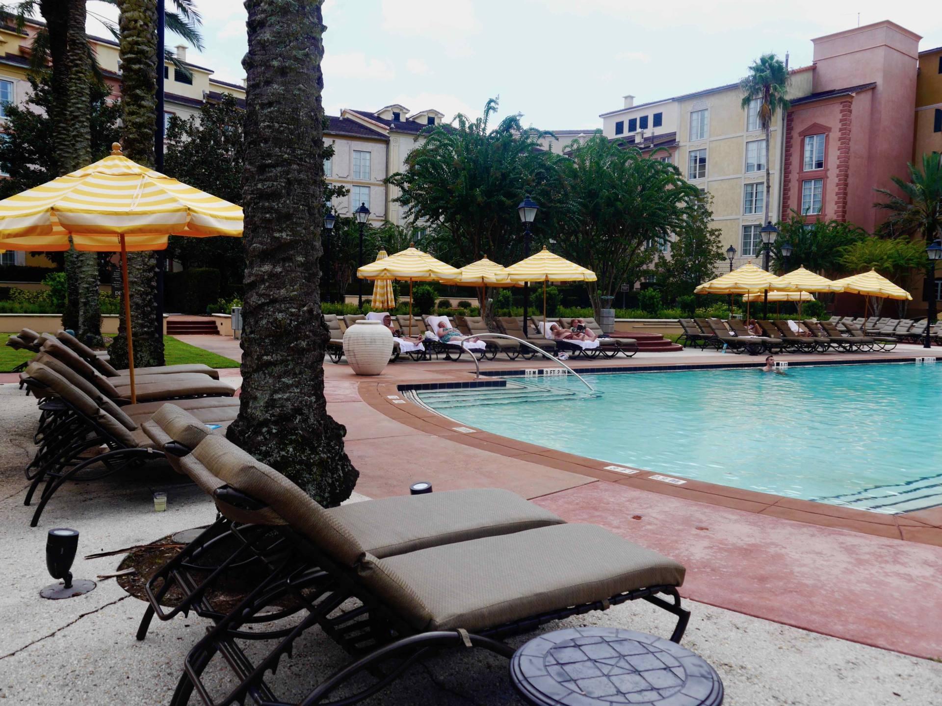 Loews Portofino Bay Hotel | Universal Orlando Resort Hotel | Villa Pool