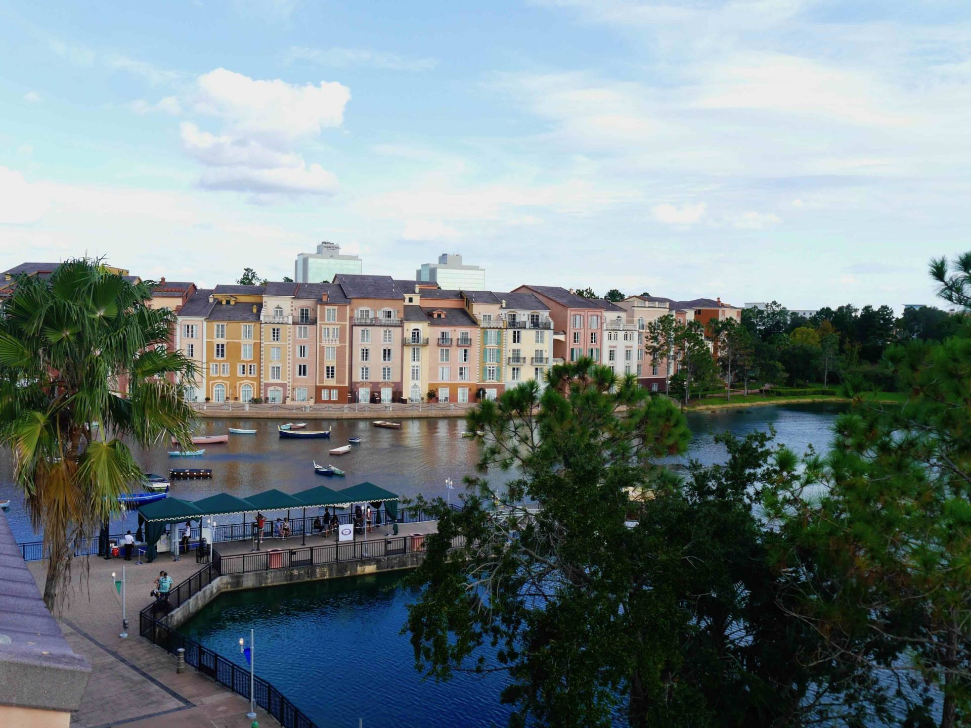 Loews Portofino Bay Hotel | Universal Orlando Resort Hotel | Water Taxi Jetty