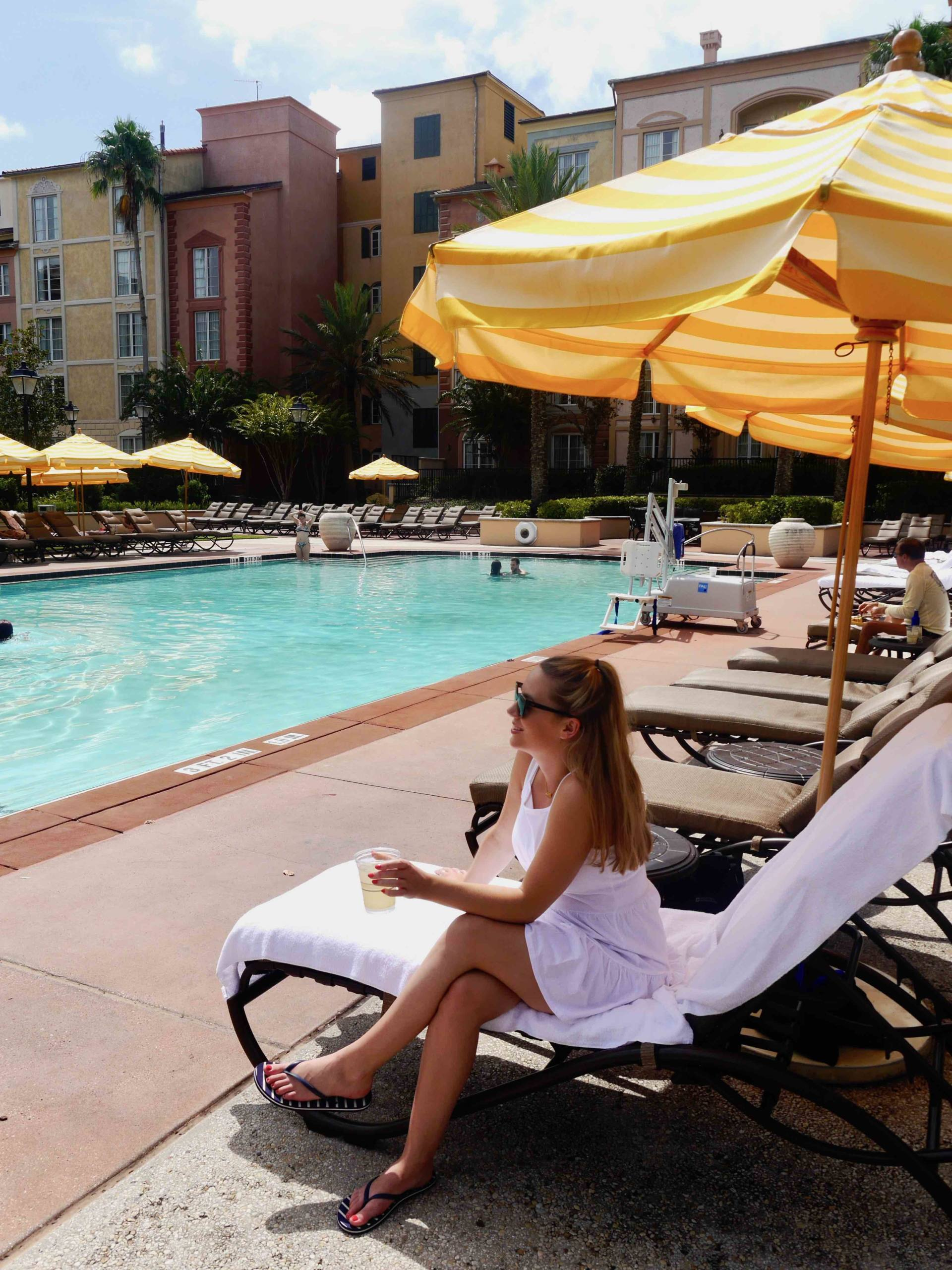 Loews Portofino Bay Adult Only Pool | The Travelista