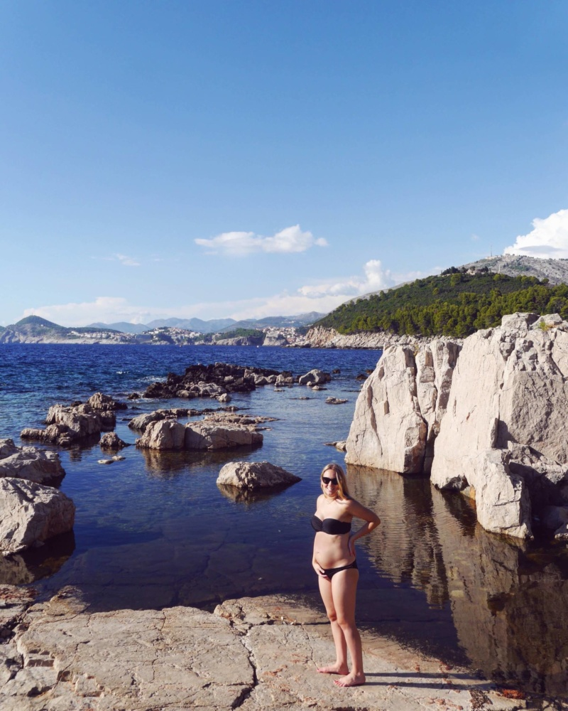 Lokrum Island The Travelista | Babymoon in Dubrovnik