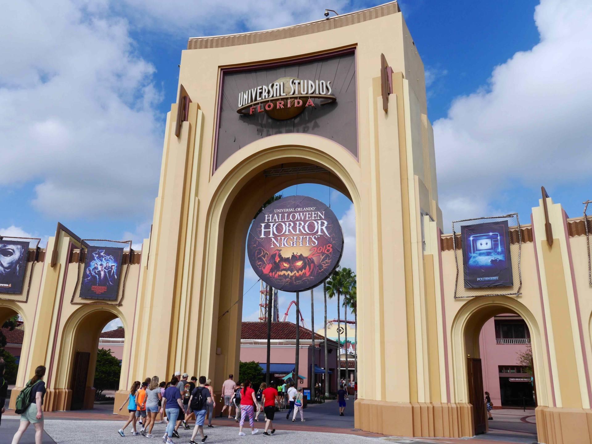 Universal Studios Orlando Entrance Gates