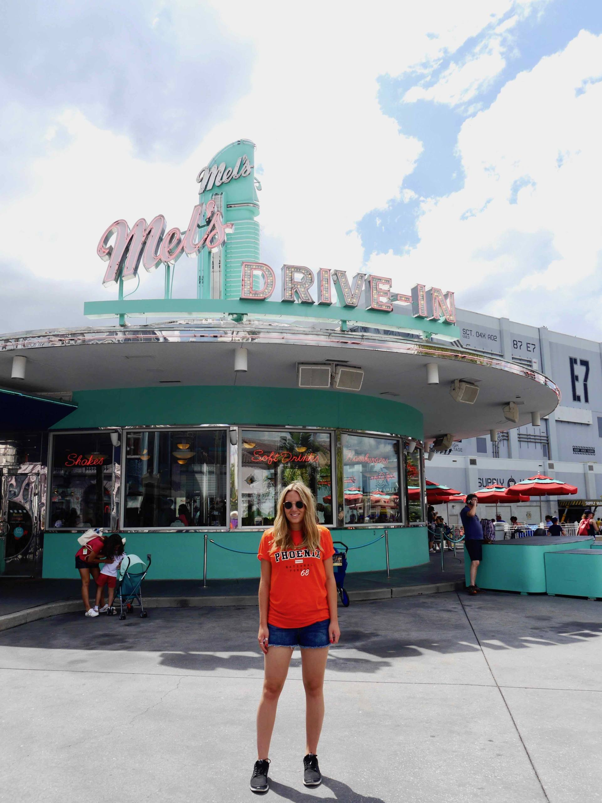 Things to know before visiting Universal Studios Orlando | The Travelista Jess Gibson Mels Drive In Diner