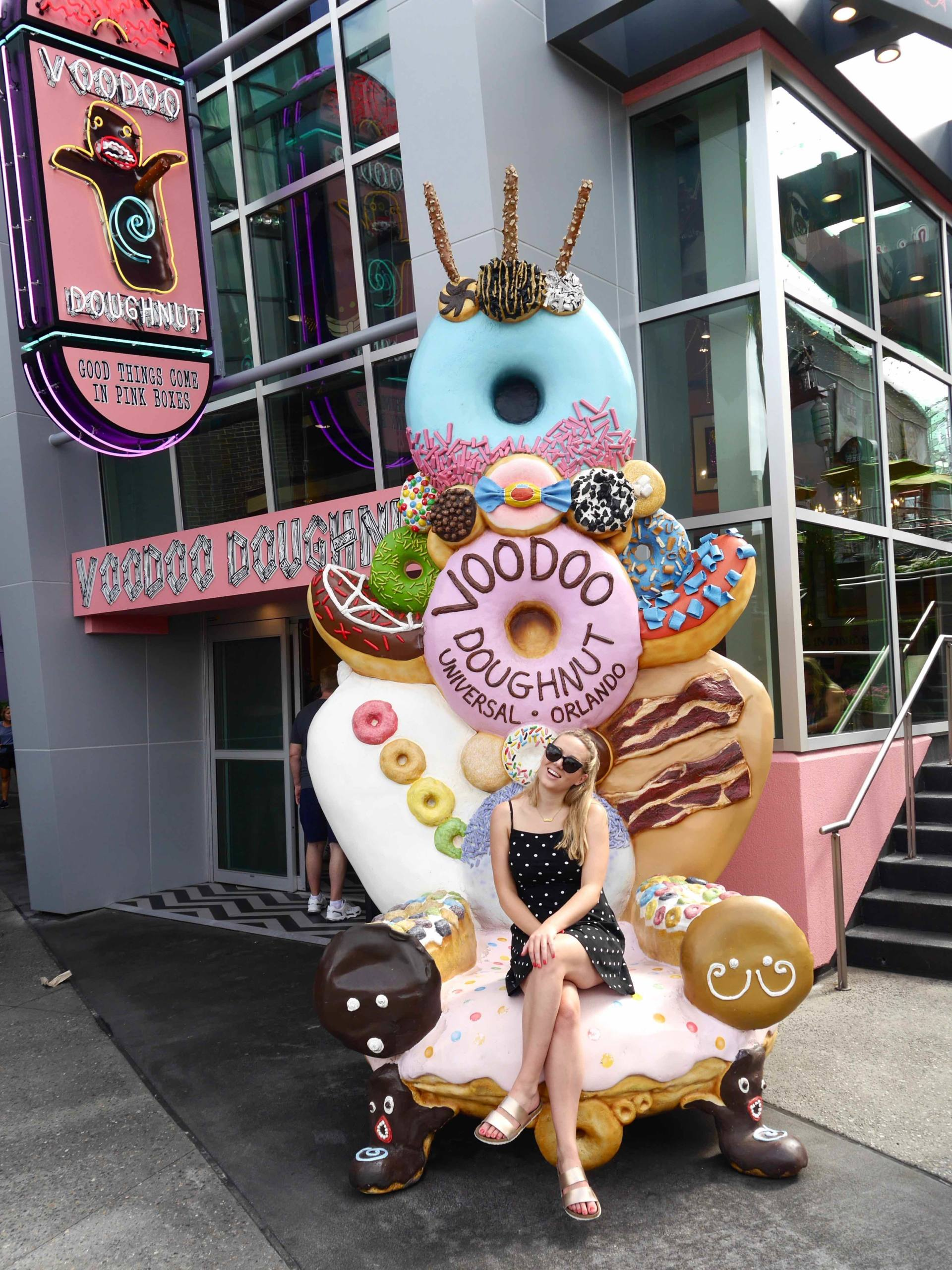 Voodoo Doughnuts City Walk Orlando Florida | The Travelsta