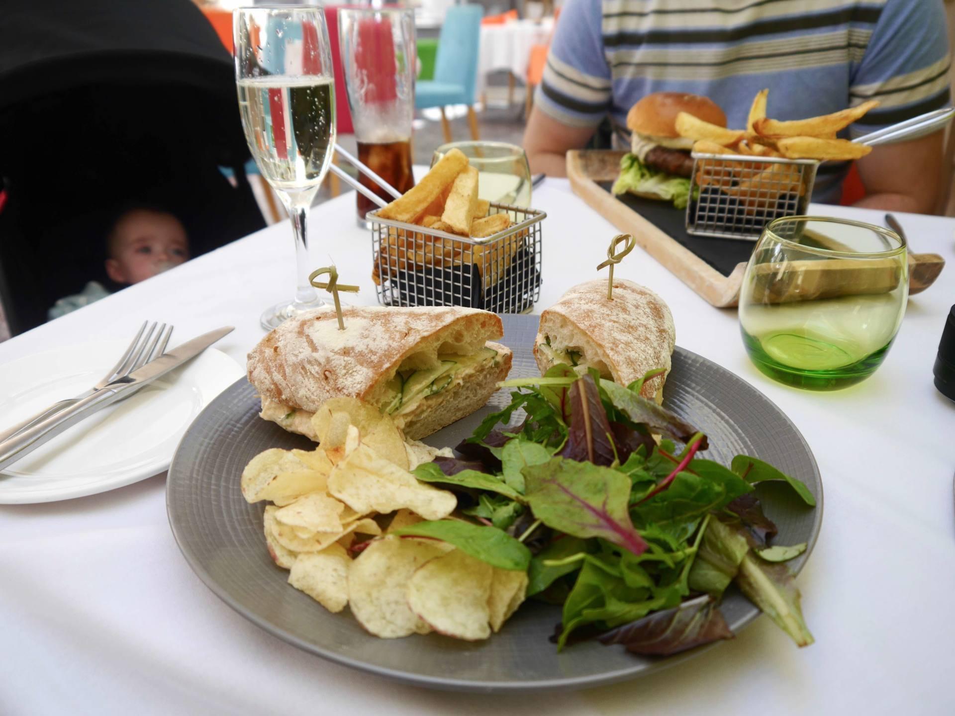 Raithwaite Estate Whitby Crab Ciabatta Sandwich