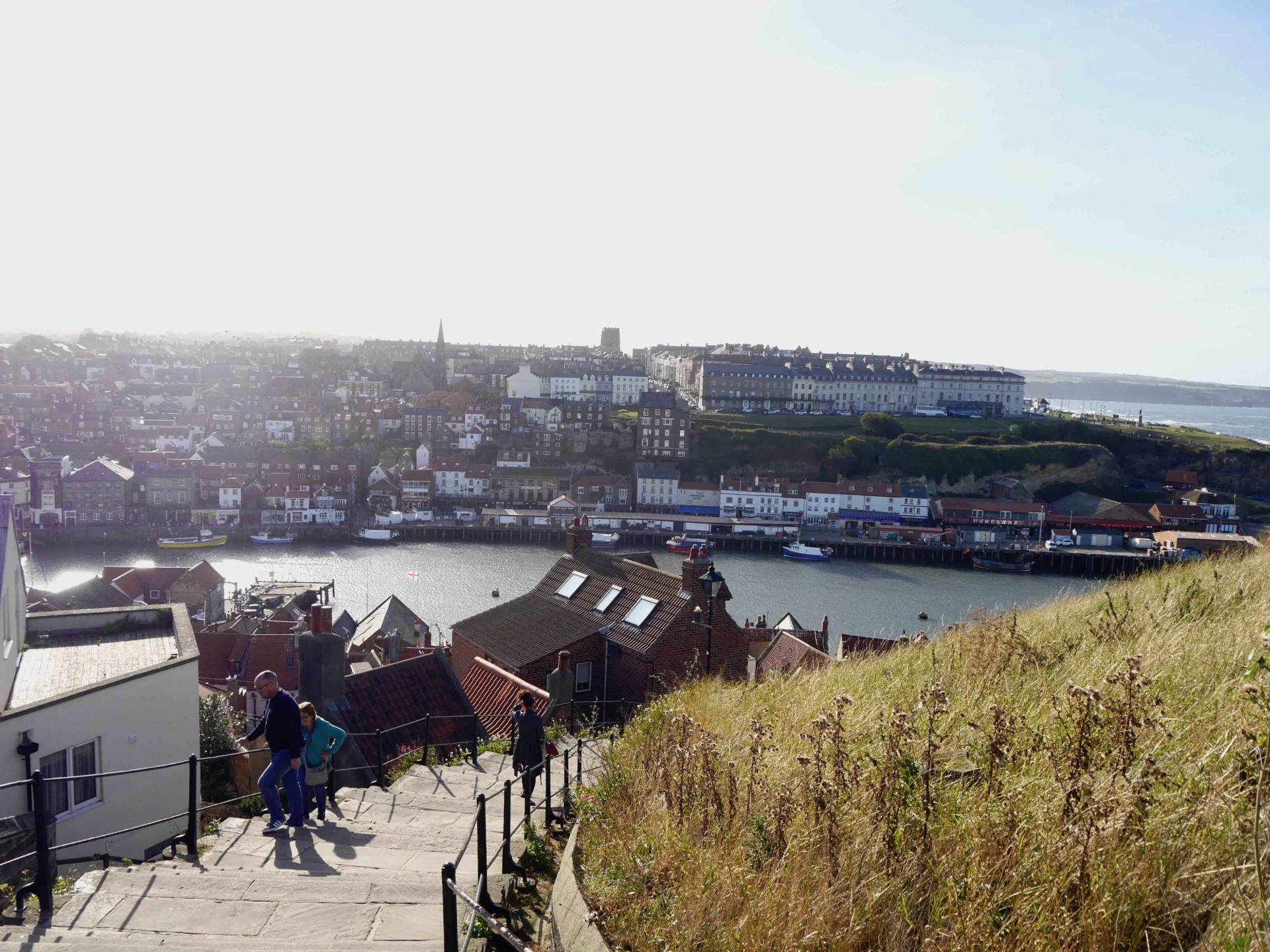 199 Steps Whitby Harbour