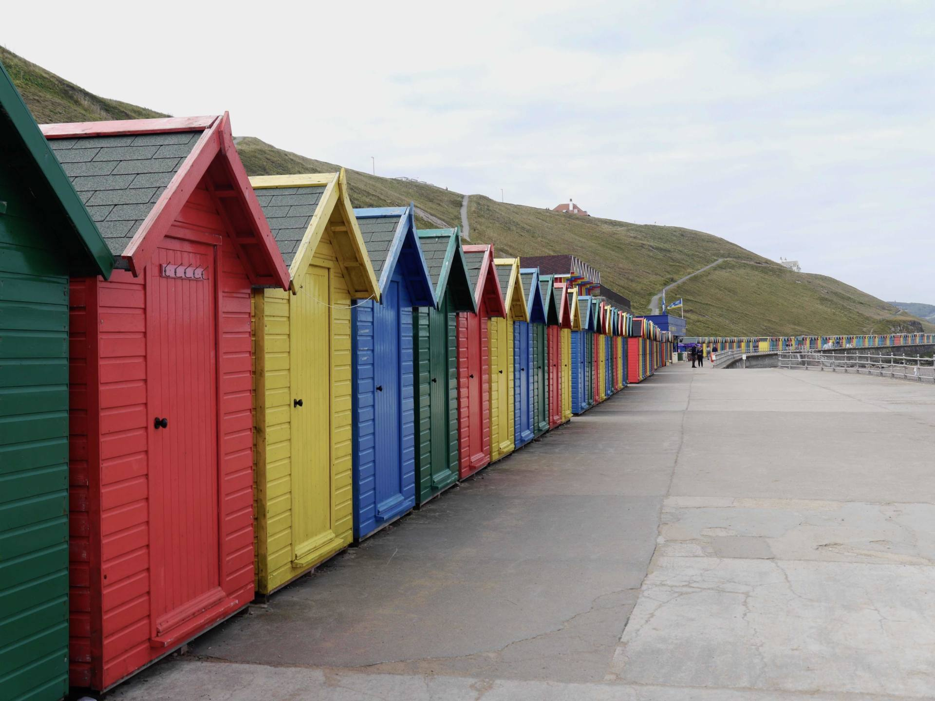 Whitby Mini Break | Colourful Beach Huts