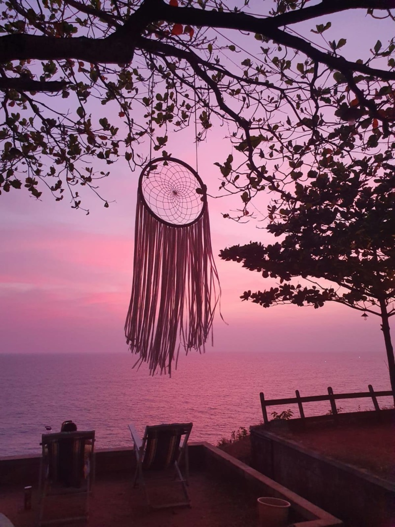 Dreamcatcher Sunset Pink India