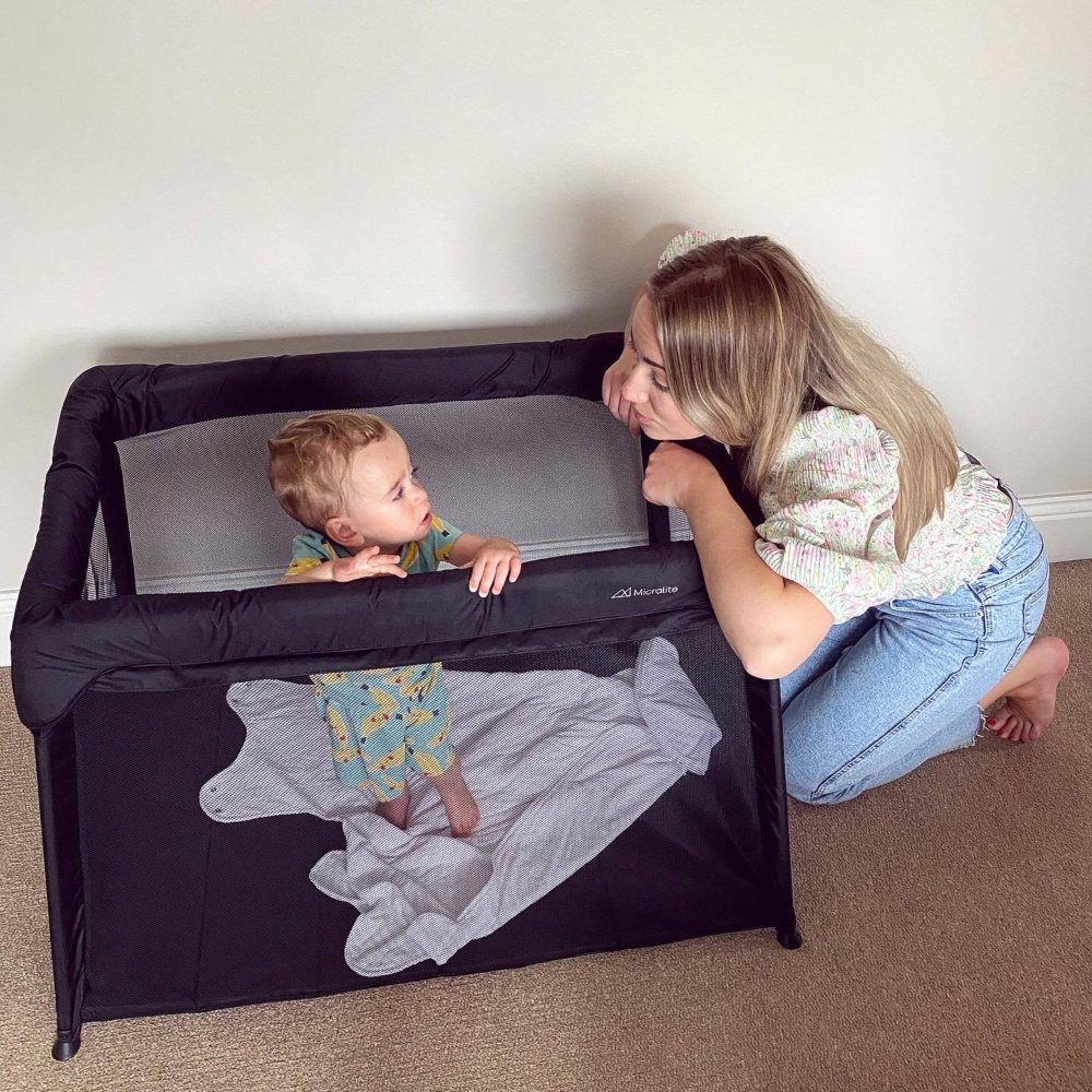 A Night Away with the Micralite Sleep & Go Lite Travel Cot