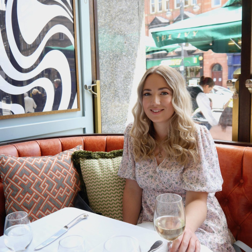 Dining at The Ivy Leeds after Restaurant Reopening