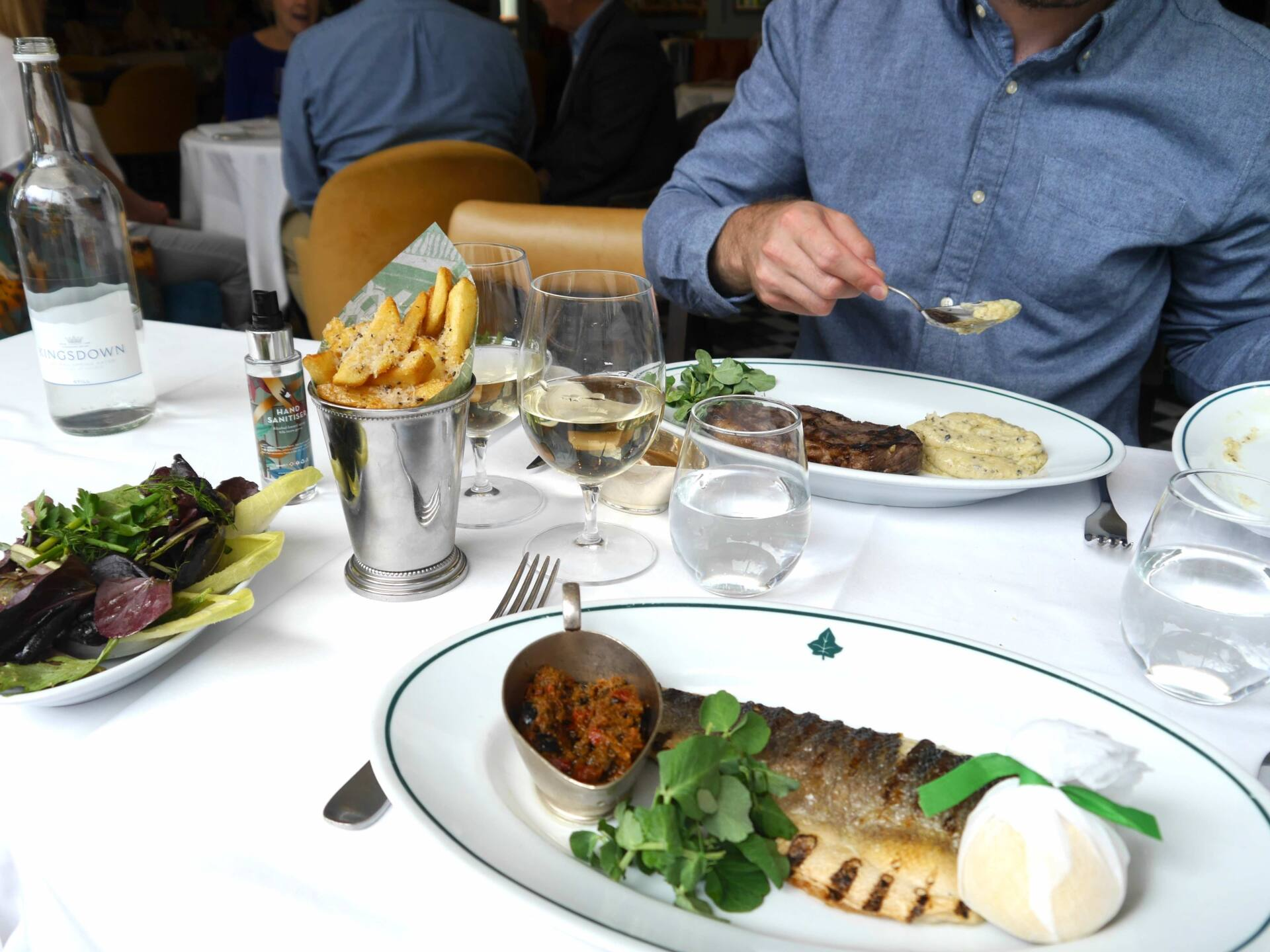 The Ivy Leeds Food Review