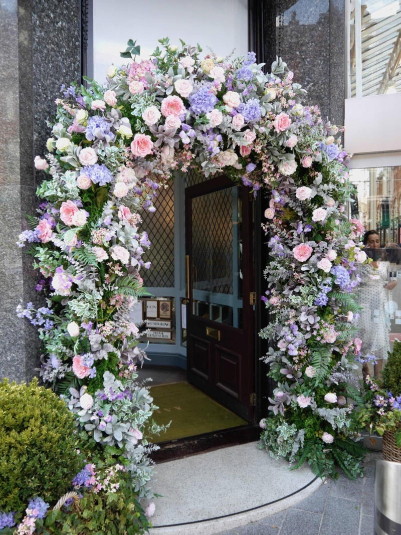 The Ivy Leeds Flower Arch